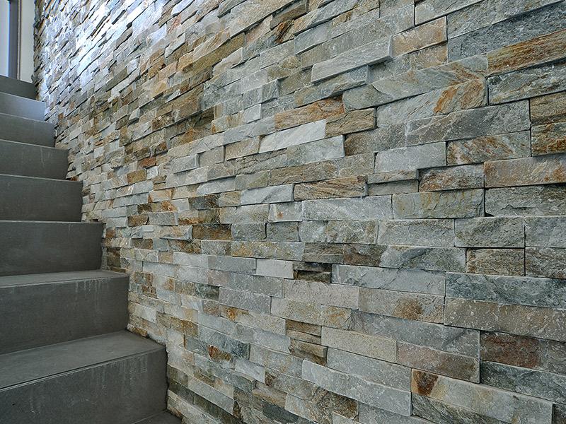 Vendita e posa rivestimenti con pietre ricostruite a brescia