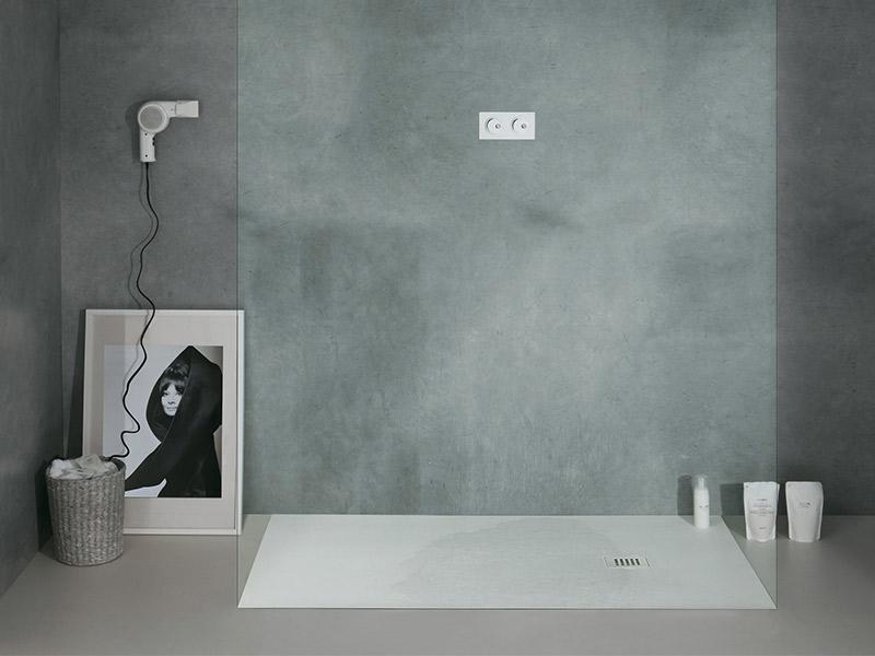 Vendita e montaggio di piatti doccia in gres a brescia - Byblos cielo bagno doccia ossigenante ...